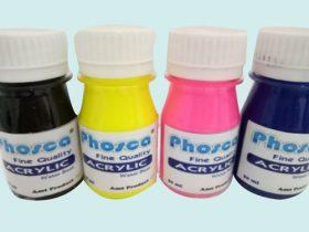 9 Acrylic Colour – Jual